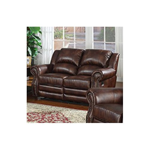 AC Pacific Fulton Reclining Loveseat