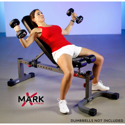 X-Mark Commercial Adjustable Utility Bench
