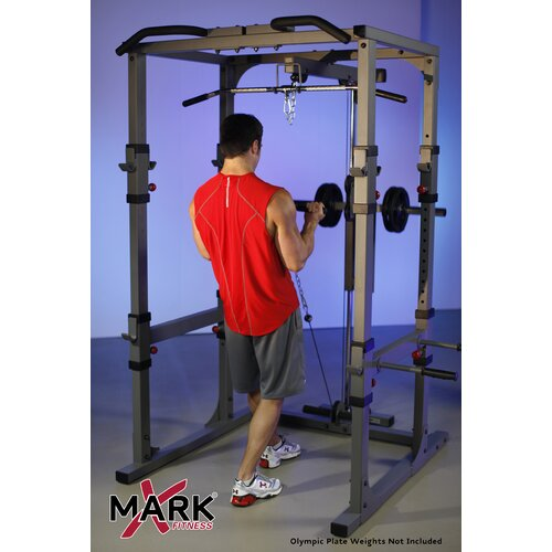 X-Mark Commercial Power Cage Lat Pulldown and Low Row Attachment