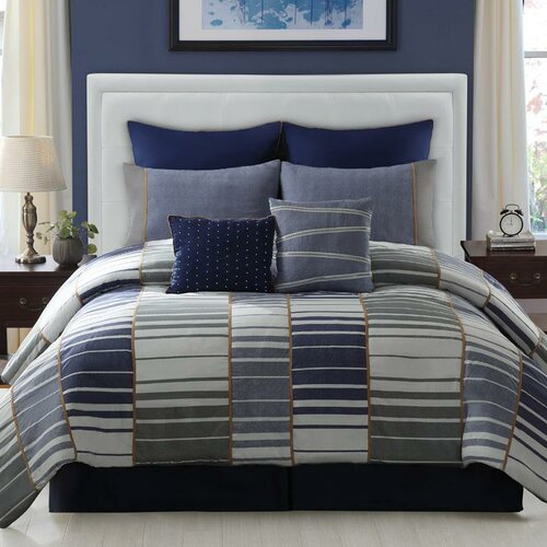LaCozee Luke 8 Piece Comforter Set