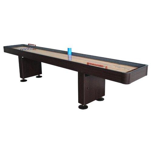 9ft or 12 ft. Shuffleboard Table in Walnut or Dark Cherry finish