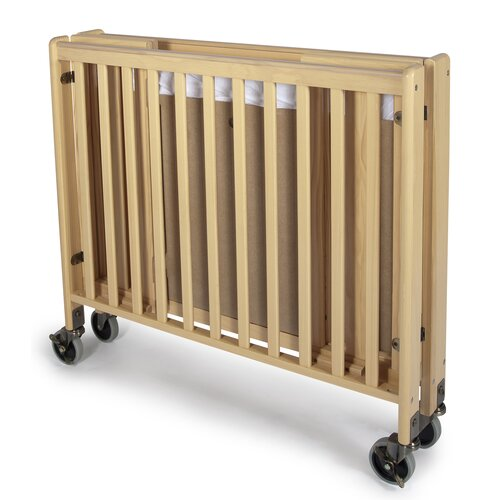 Foundations Hideaway Full Size Folding Crib