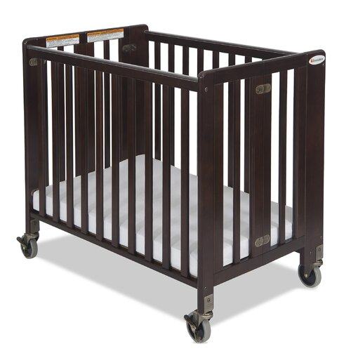 Foundations Hideaway Compact Size Folding Crib