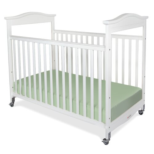 Foundations Biltmore Safereach Fixed Side Clearview Compact Crib