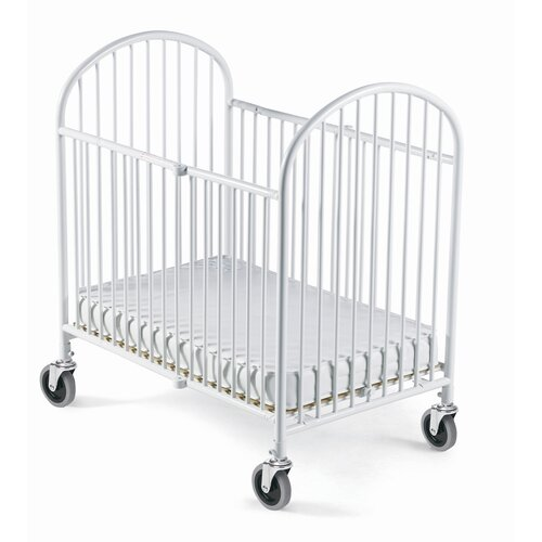 Pinnacle Folding Compact Crib and Mattress Set