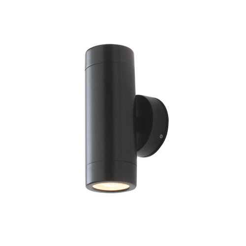 Saxby Lighting Odyssey Two Light Up / Down Spotlight in Satin Black
