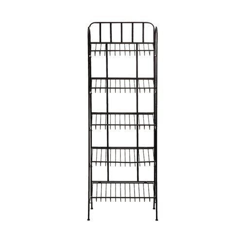 Metal 5-Tier Slanted Shelf