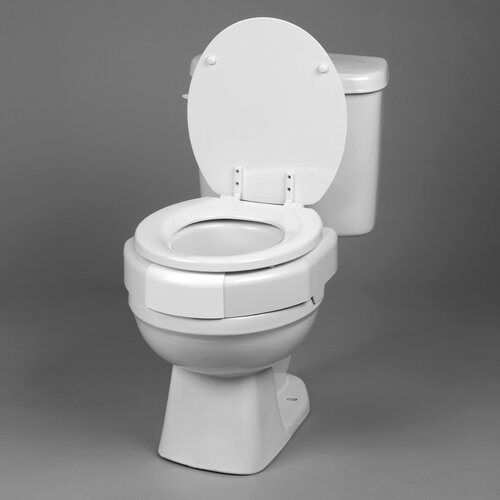Secure Bolt Elevated Toilet Seat