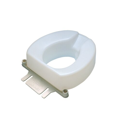Maddak Extra Wide Tall Ette Elevated Raised Toilet Seat