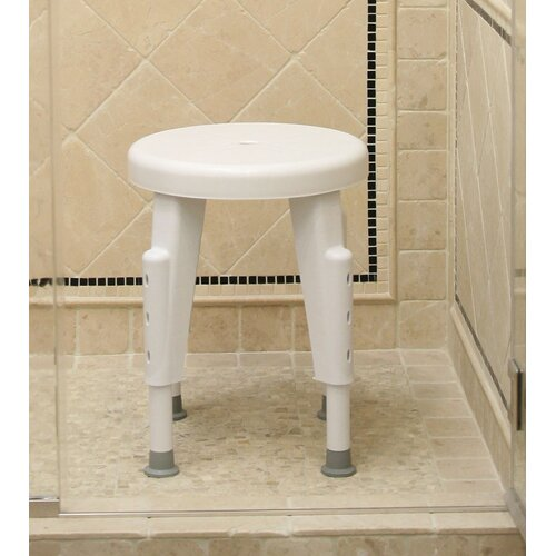 Ableware Non-Rotating Adjustable Shower Chair