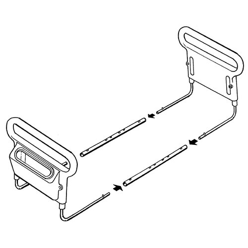 Ableware Double AbelRise Bed Assist