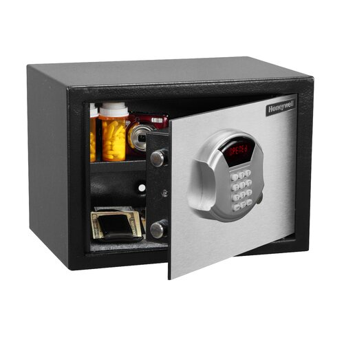Honeywell DOJ Approved Steel Security Safe Digital Lock .50 CuFt.
