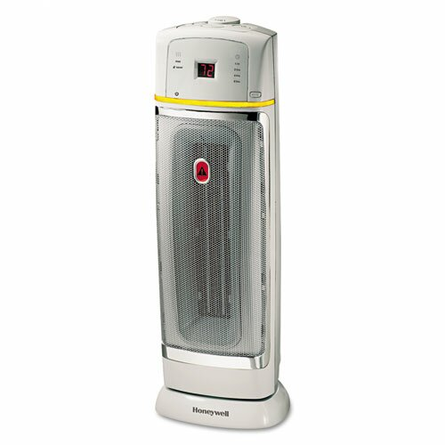 Honeywell 1,500 Watt Ceramic Tower Space Heater with Oscillating