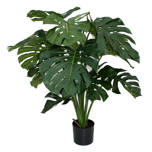 Flora Novara Artificial Giant Monstera Floor Plant