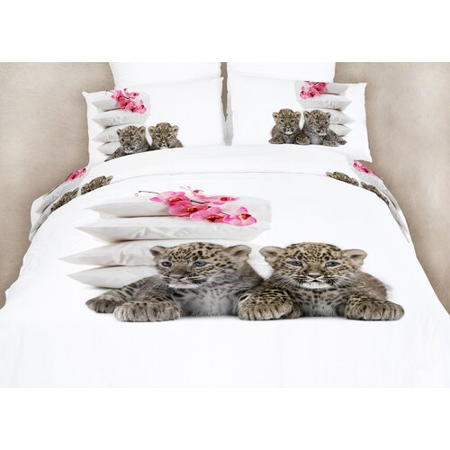 Baby Leopards Duvet Cover Set