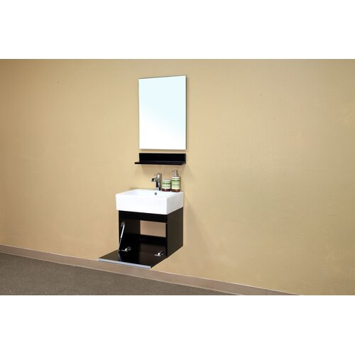 Bellaterra Home Mason Bathroom Mirror