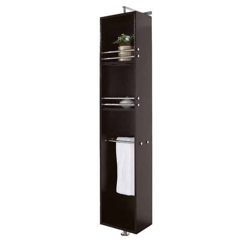 "Wyndham Collection Claire 73"" x 13.75"" Rotating Wall Mounted Cabinet"