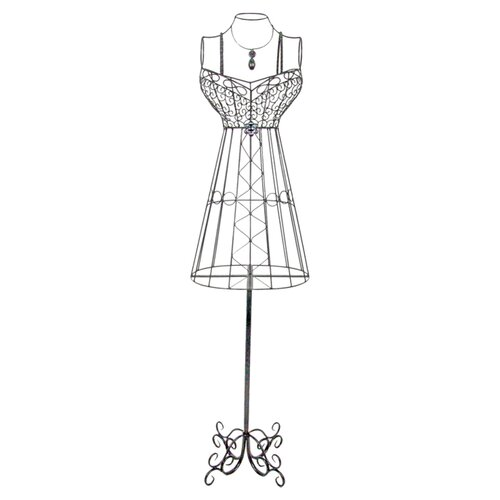 Dress Form Rack Statue