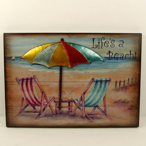Firefly Home Collection Beach Wall Décor