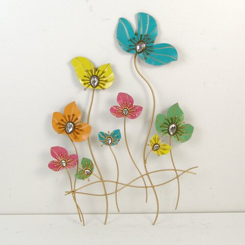 Firefly Home Collection Flower Wall Décor