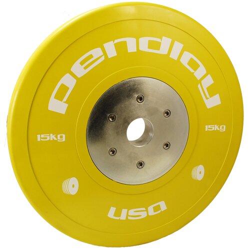 Pendlay 15kg Elite Color Bumper Plates