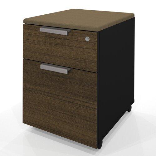 Bestar Pro-Concept 2-Drawer Mobile Pedestal