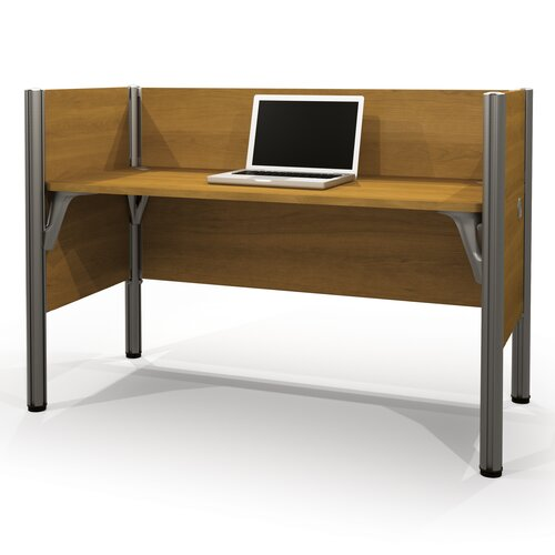Bestar Pro-Biz Simple Workstation with 3 Privacy Panels