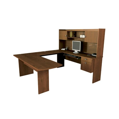 Bestar Omega U-Shape Executive Desk Office Suite