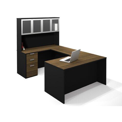 Bestar Pro-Concept U-Shape Desk Office Suite