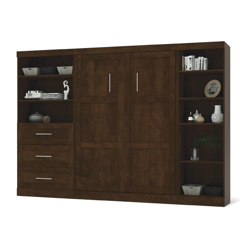 Bestar Pur Double Murphy Bedroom Collection