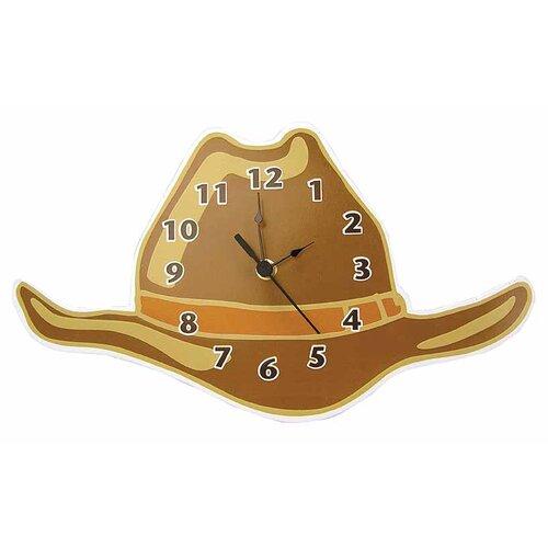 Cowboy Baby Hat Wall Clock