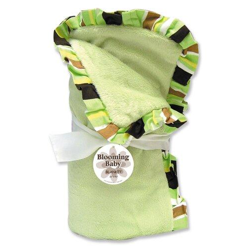 Giggles Velour Baby Blanket