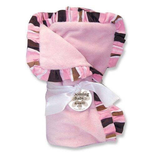 Maya Velour Baby Blanket