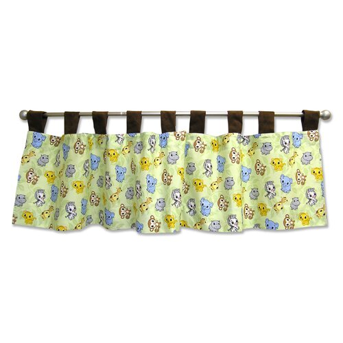 "Trend Lab Chibi Zoo 53"" Curtain Valance"