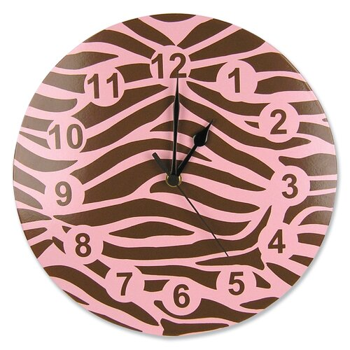 "Trend Lab Sweet Safari 11"" Wall Clock"