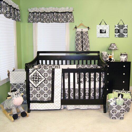 Versailles 4 Piece Crib Bedding Set