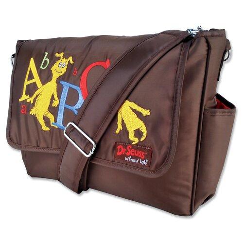 Dr Seuss Messenger Diaper Bag