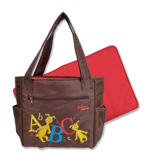 Trend Lab Dr Seuss Tulip Tote Diaper Bag