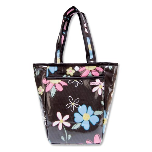 Trend Lab Blossoms Tote Diaper Bag