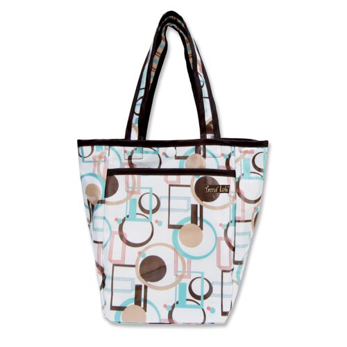 Trend Lab Cocoa Dots Tote Diaper Bag
