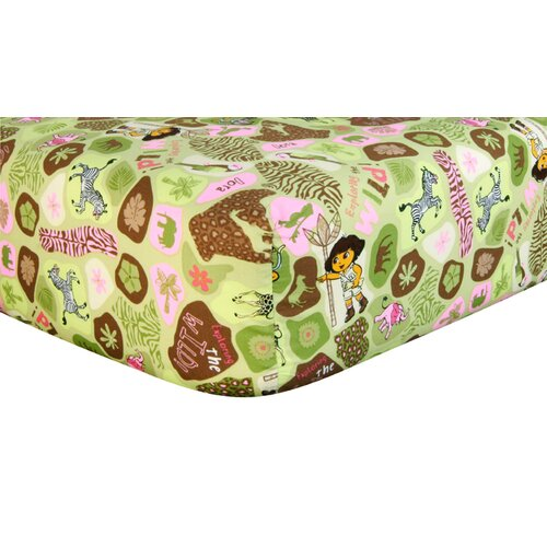 Trend Lab Nickelodeon Dora the Explorer Crib Sheet