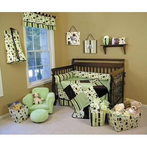 Trend Lab Giggles 4 Piece Crib Bedding Set Amp Reviews Wayfair