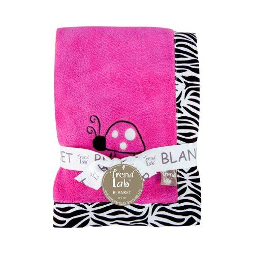 Zahara Zebra Framed Receiving Blanket