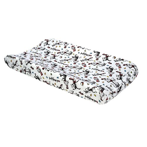 Trend Lab Dr. Seuss Cat In The Hat Changing Pad Cover