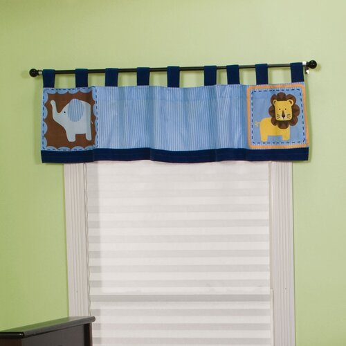 """Trend Lab Jungle 123 Table Top 56"""" Curtain Valance"""