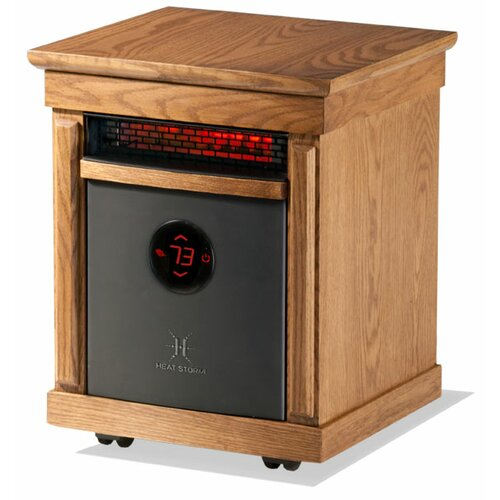 Heat Storm Smithfield 1500 Watts 110 Volts Infrared Space Heater