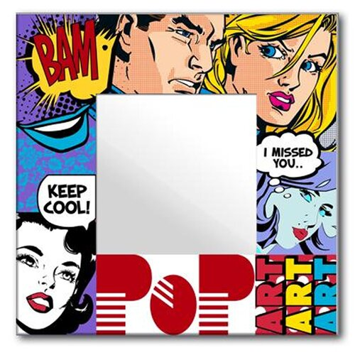Creative Motion Pop Art Mirror