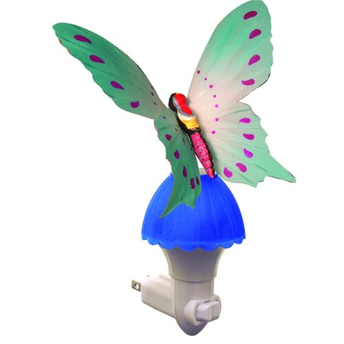 Creative Motion Fiber Butterfly Night Light