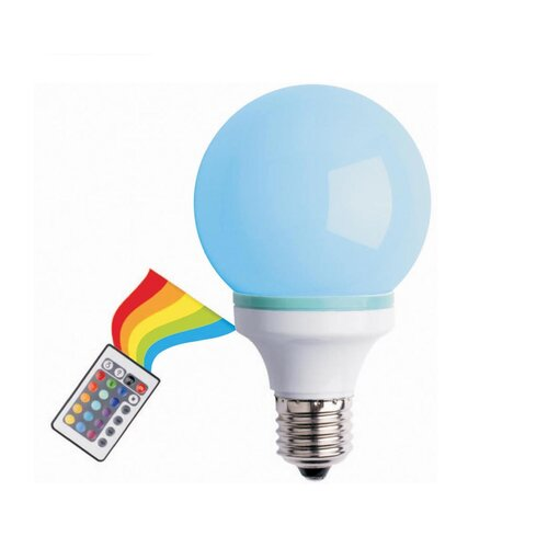 1W Multi LED Light Bulb