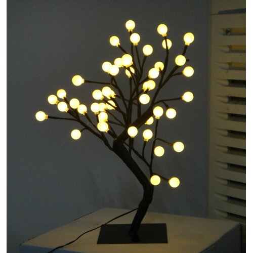 "Creative Motion Desktop Ball Tree 17.71"" H Table Lamp"